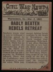 1962 Topps Civil War News #85   Attacked from Behind Back Thumbnail