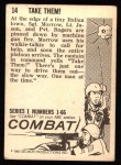 1964 Donruss Combat #14   Take Them! Back Thumbnail