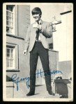 1964 Topps Beatles Black and White #30  George Harrison  Front Thumbnail