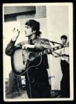1964 Topps Beatles Black and White #44  John Lennon  Front Thumbnail