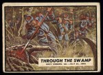 1962 Topps Civil War News #73   Through the Swamp Front Thumbnail
