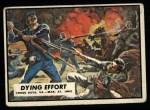 1962 Topps Civil War News #13   Dying Effort Front Thumbnail