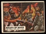 1962 Topps Civil War News #40   Bullets of Death Front Thumbnail