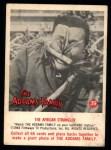 1964 Donruss Addams Family #39 AM  African Strangler Front Thumbnail