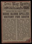 1962 Topps Civil War News #28   The Cannon Roars Back Thumbnail