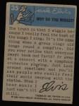 1956 Topps / Bubbles Inc Elvis Presley #35   Elvis at 17 Back Thumbnail