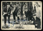 1964 Topps Beatles Black and White #1  George Harrison  Front Thumbnail
