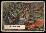 1962 Topps Civil War News #71   No Escape Front Thumbnail