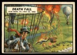 1962 Topps Civil War News #20   Death Fall Front Thumbnail