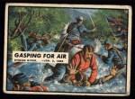 1962 Topps Civil War News #35   Gasping for Air Front Thumbnail