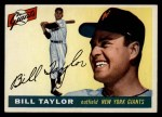 1955 Topps #53  Bill Taylor  Front Thumbnail