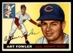 1955 Topps #3  Art Fowler  Front Thumbnail