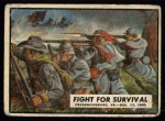 1962 Topps Civil War News #33   Fight for Survival Front Thumbnail