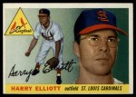 1955 Topps #137  Harry Elliott  Front Thumbnail
