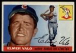 1955 Topps #145  Elmer Valo  Front Thumbnail