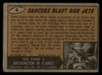 1962 Mars Attacks #4   Saucers Blast Our Jets Back Thumbnail