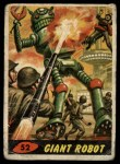 1962 Mars Attacks #52   Giant Robot  Front Thumbnail