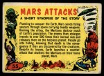 1962 Topps / Bubbles Inc Mars Attacks #55   Checklist  Front Thumbnail