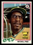 1978 Topps #55  Mitchell Page  Front Thumbnail