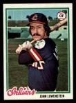 1978 Topps #87  John Lowenstein  Front Thumbnail