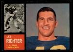 1962 Topps #86  Les Richter  Front Thumbnail