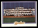 1978 Topps #282   Yankees Team Checklist Front Thumbnail