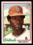 1978 Topps #352  Tony Scott  Front Thumbnail