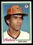 1978 Topps #625  Jose Cruz  Front Thumbnail