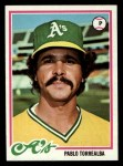 1978 Topps #78  Pablo Torrealba  Front Thumbnail