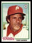 1978 Topps #118  Terry Harmon  Front Thumbnail