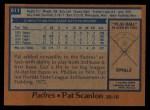 1978 Topps #611  Pat Scanlon  Back Thumbnail