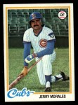 1978 Topps #175  Jerry Morales  Front Thumbnail