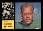 1962 Topps #120  Pete Retzlaff  Front Thumbnail