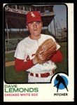 1973 Topps #534  Dave Lemonds  Front Thumbnail