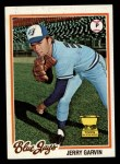 1978 Topps #419  Jerry Garvin  Front Thumbnail