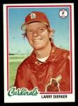 1978 Topps #195  Larry Dierker  Front Thumbnail