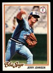 1978 Topps #169  Jerry Johnson  Front Thumbnail