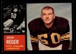 1962 Topps #135  John Reger  Front Thumbnail
