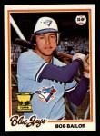 1978 Topps #196  Bob Bailor  Front Thumbnail