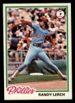 1978 Topps #271  Randy Lerch  Front Thumbnail