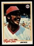 1978 Topps #670  Jim Rice  Front Thumbnail