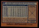1978 Topps #227  Al Fitzmorris  Back Thumbnail
