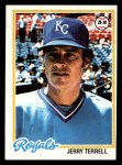 1978 Topps #525  Jerry Terrell  Front Thumbnail