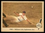 1959 Fleer #15   -  Ted Williams  Licks the Sophomore Jinx Front Thumbnail