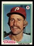 1978 Topps #568  Tom Hutton  Front Thumbnail