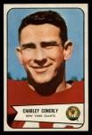 1954 Bowman #113  Charley Conerly  Front Thumbnail