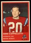 1963 Fleer #5  Gino Cappelletti  Front Thumbnail