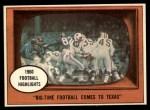 1961 Topps #19   -  Eddie LeBaron 1960 Football Highlights Front Thumbnail