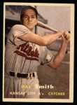 1957 Topps #41  Hal W. Smith  Front Thumbnail