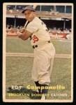 1957 Topps #210  Roy Campanella  Front Thumbnail